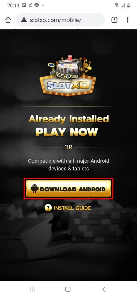 Download SlotXO Android หรือ Download IOS